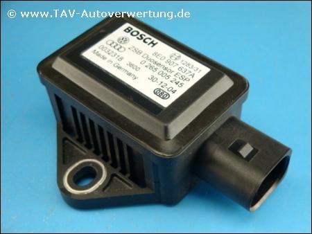 Esp Yaw Sensor Audi Vw 8e0 907 637 A Bosch 0 265 005 245