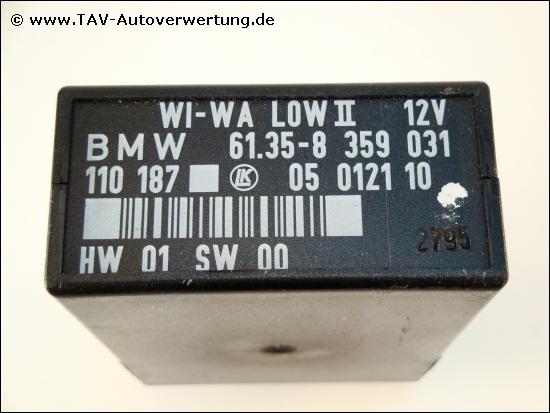 Wi Wa Low Ii Control Unit Bmw 61 35 8 359 031 Lk 05 0121