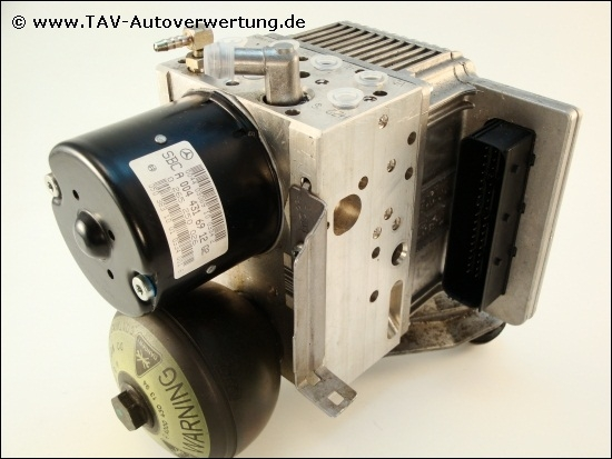 Abs sbc hydraulikeinheit mercedes benz a 0044316912 q2 for Mercedes benz sensotronic brake control sbc