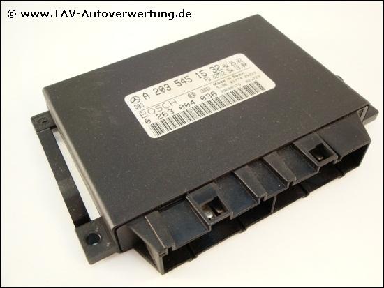 Transmission control module mercedes benz a 203 545 15 32 for Mercedes benz transmission control module