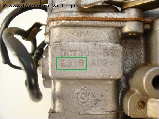 e318 mazda 323 (bd) 1.3 ltr