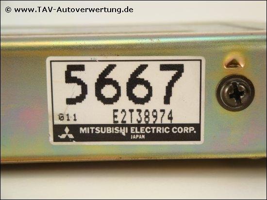 Engine Control Unit Md175667 E2t38974 5667 Mitsubishi Colt