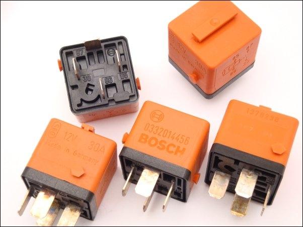Relay 12v 30a Bmw 1 378 238 Bosch 0 332 014 456 61 36 1 378 238 E30 E36 E34 E32 15 00