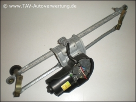 Wiper motor front Valeo MFD250B 535-50-802 with linkage 7700-847-567 Renault Clio