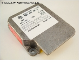 Airbag VW5 Steuergeraet VW 6Q0909605B Siemens 5WK42869 Index 01