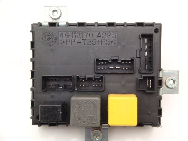 Fuse Box In Fiat Punto : Fuse relay box a fiat punto barchetta