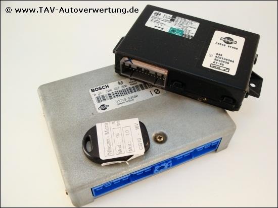 Engine control unit Bosch 0-261-200-957 Nissan 2371099B00 99B0095800