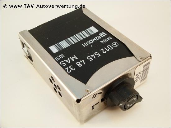MAS Control unit Mercedes-Benz A 012-545-48-32 [03] Uher 62MD501 M