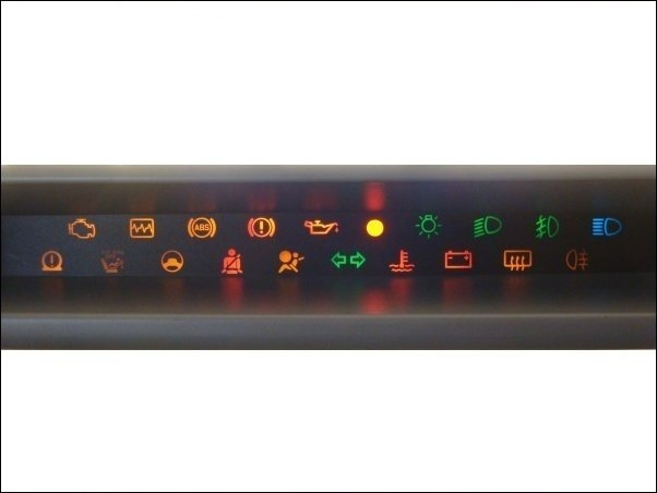 Dashboard Warning Lights 8-200-121-172- VDO 231-020-035-013