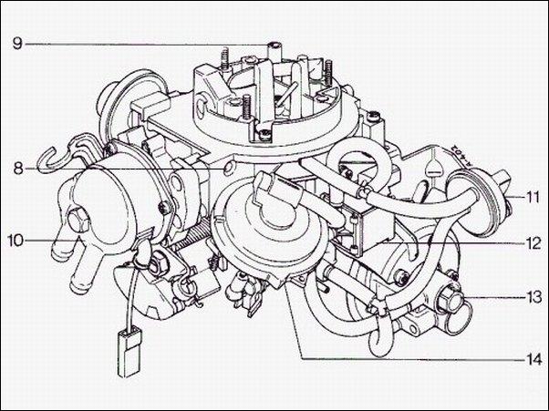 Carburetor Pierburg 2e 027 129 016 H 717852460 Vw Golf Jetta